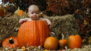 Brayden's first Halloween! Photo by Brent P.