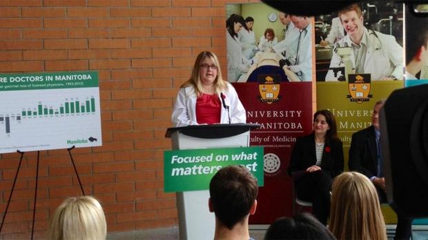 Numer of Manitoba doctors rises