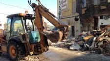 Shanghai Restaurant demolition