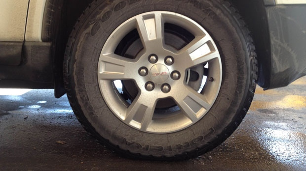 All-season tires like these can be used in the winter. Karen Rocznik looks at whether or not paying the extra cash for a set of winter tires is worth it in this week's Consumerwatch.