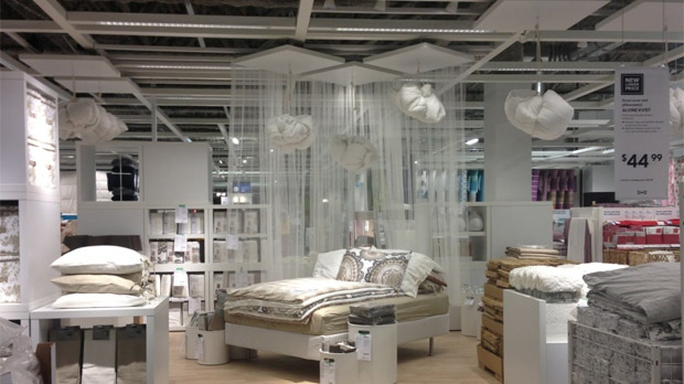 Winnipeg's new IKEA will feature 55 display rooms. The store is set to open on Nov. 28, 2012.