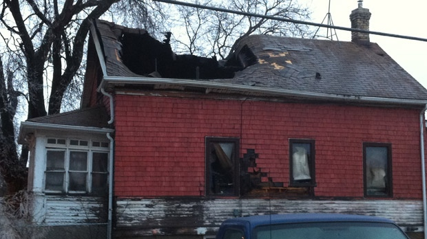 The house fire on Hethrington in Winnipeg on Nov. 22, 2012 has claimed the lives of Bert Parry and his wife Joanne.