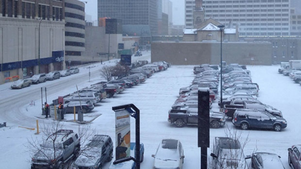 Recent snowfall in Winnipeg coincides with the city's annual parking ban.