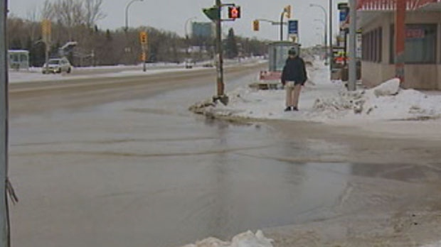 Portage Avenue watermain break