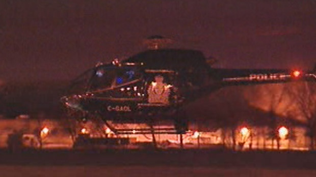 The Winnipeg police helicopter, Air1, is shown in a file image.