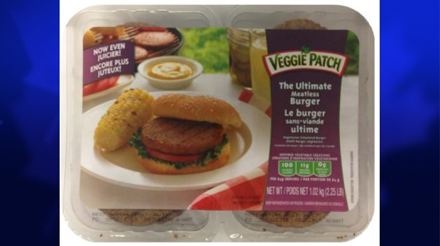 Veggie Patch brand The Ultimate Meatless Burger
