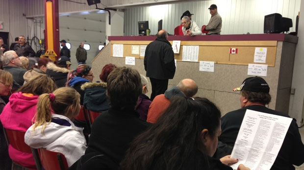 Associated Auto Auction Ltd. auctioned off the Winnipeg Police Service's unclaimed goods Sunday.