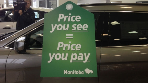 The province has tabled legislation that would require car dealerships to post more transparent pricing.