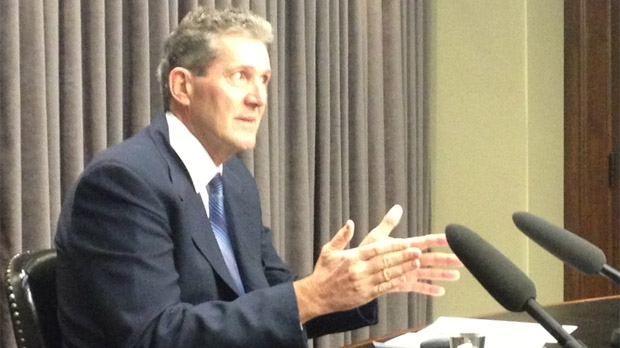 Manitoba PC Party Leader Brian Pallister