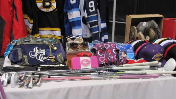 Manitoba RCMP released images of counterfeit items on Dec. 4, 2012.