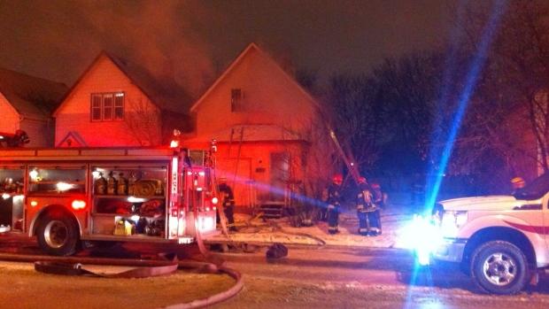 Arlington fire