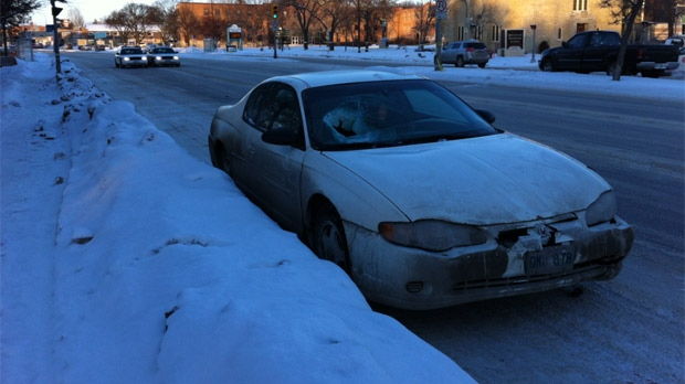 A pedestrian was hit at Portage and Woodlawn in Winnipeg on Dec. 11, 2012 around 7:30 a.m.