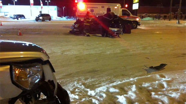 Portage Avenue crash