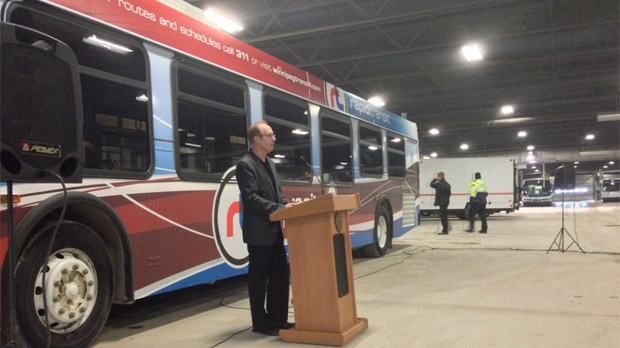 Winnipeg rapid transit funding announcement