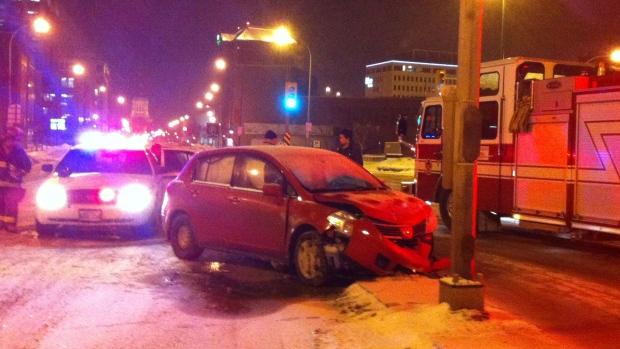 Ellice and Balmoral crash