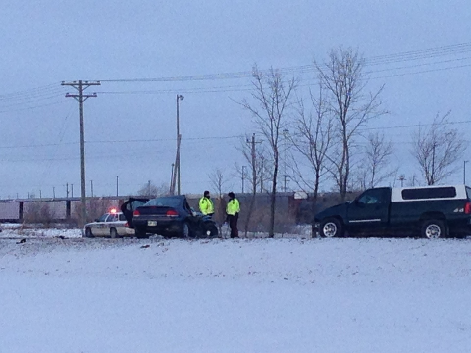 Emergency crews were called to Fermor Avenue just before 8 a.m. for a serious crash.