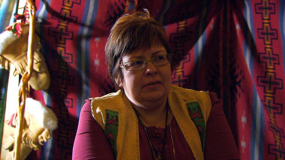 Attawapiskat Chief Theresa Spence speaks with CTV News during the third week of her hunger strike, Thursday, Dec. 27, 2012.