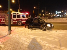 Kingsbury Avenue crash