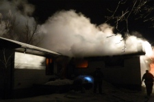 Gimli house fire
