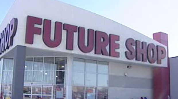 The Future Shop on Regent Avenue in Winnipeg has closed.