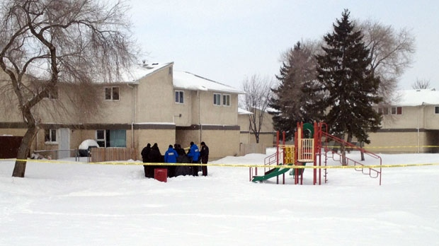 Winnipeg police were at an apartment complex in the 200 block of Doncaster Street on Saturday morning to check on the well-being of an individual, officials said.