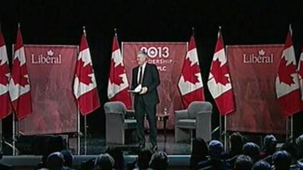 Liberal leadership hopefuls squared off