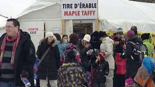 This year, Festival du Voyageur drew in thousands of people.