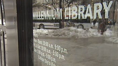 A section of the Millennium Library will be sponsored by TD Bank.