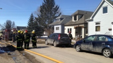 Double house fire on Union Avenue