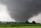 A tornado passes across south Oklahoma City, Monday, May 20, 2013. (AP /The Oklahoman, Paul Hellstern)