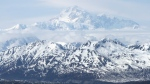 In this May 27, 2008 file photo, Mount McKinely is seen from a viewing area along the Parks Highway, not far from Talkeetna, Alaska. (AP Photo/Mark Thiessen, File)