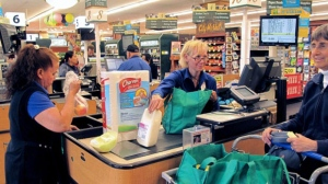 Checkout lines are a thing of the past at the new Amazon grocery store.