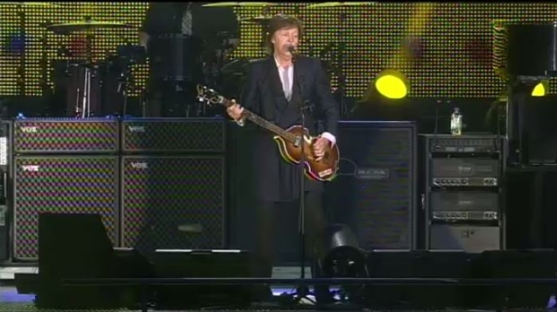 McCartney treats fans to three hour show at IGF