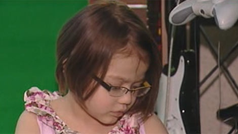 Sophie Upton, 4-years-old, no longer needs a heart transplant thanks to a German invention.