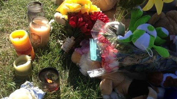 A memorial was held for Taylor Penner Thursday night in Morden.