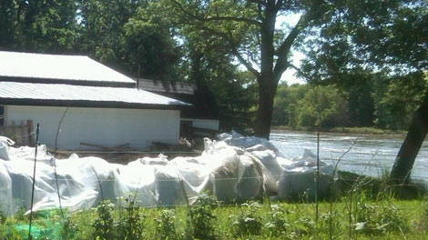 Residents in Wawanesa are bracing for rising water levels.