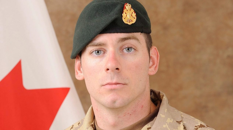 Cpl. Joshua Caleb Baker was killed during a training incident at a range northeast of Kandahar city. (THE CANADIAN PRESS/ho-Canadian Armed Forces)