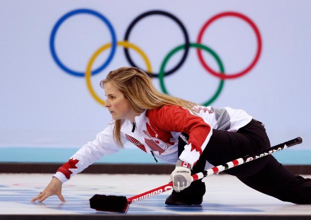 Jones Curling Sochi Jennifer Jones in Sochi