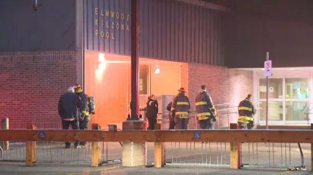Electrical Fire Sends Smoke Pouring Out Of Elmwood Kildonans Pool Ctv News Winnipeg