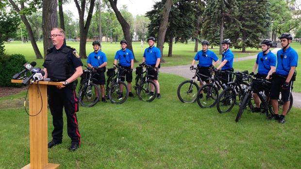 Bikes Winnipeg Winnipeg Police Service bike