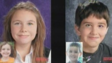 Winnipeg police released images of how Abby (left) and Dominic Maryk might look now, more than three years after they were abducted.