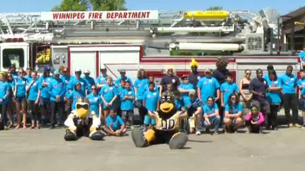 Child Burn Survivors Head To Firefighters Burn Camp Ctv