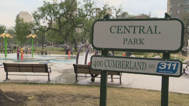 Central Park in Winnipeg