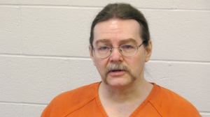 Ronald Smith is shown at Montanta State Prison in Deer Lodge on Wednesday, Feb. 22, 2012. (Bill Graveland / THE CANADIAN PRESS)