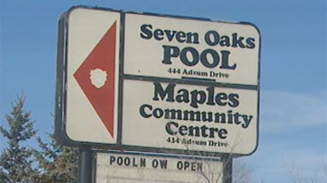 A swimming instructor at Seven Oaks Pool was filmed with a hidden camera in the employee change room. She found the pen-style camera in the washroom.