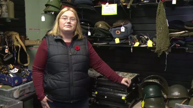 store keeps memories of military service alive ctv news