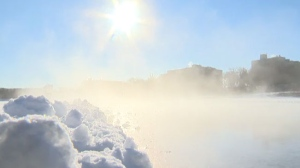Environment Canada said an arctic ridge of high pressure that is building into the prairies, is bringing very cold air southward. (File image)
