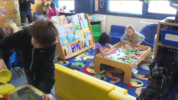 Of those surveyed, 58 per cent said they would be willing to pay a little more in taxes for a universal child care system. (File image)