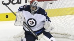 Ondrej Pavelec has been out since late November with a sprained knee. (AP Photo/LM Otero/File image)