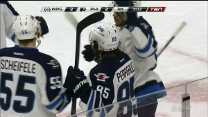 Jets Fall to Flyers 5-2